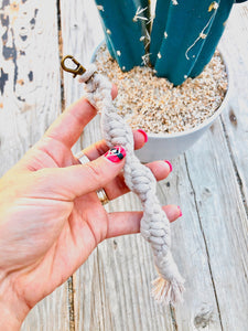Twisted Macrame Keychains