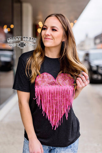 Mad Love Fringe Tee