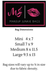 MakeupJunkie Bag-Pink Citrus