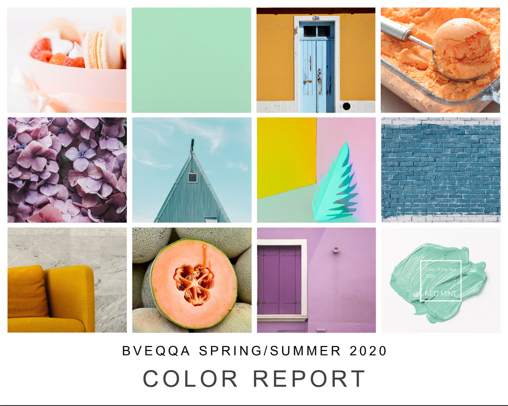 Bveqqa's Spring/Summer 2020 Color Report