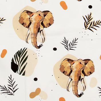 African safari table runner