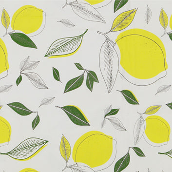 Lemons & Leaves napkins