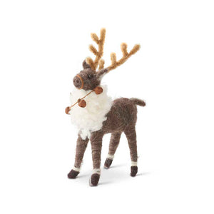 Wool Reindeer with Bells (3 options)