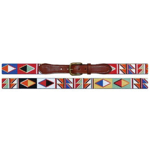 Maasai Needlepoint Belt