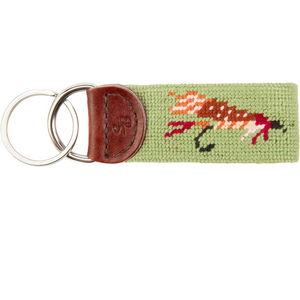 Fishing Fly Needlepoint Key Fob - OnwardReserve