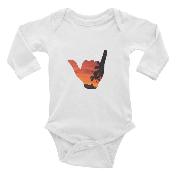 Shaka Infant Long Sleeve Bodysuit