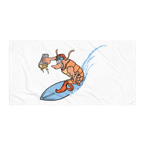 Beach Towel - Shrimp
