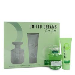 United Dreams Live Free Gift Set By Benetton