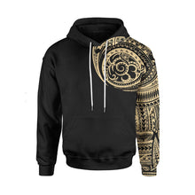 Load image into Gallery viewer, Vikings - One-armed Tattoo hoodie