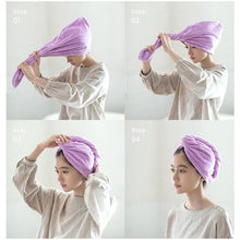 Load image into Gallery viewer, Quick Magic Hair Dry Hat
