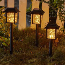 Load image into Gallery viewer, 2 in 1 Solar-Powered Copper Wire LED Lantern Light
