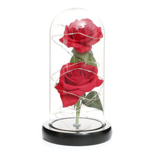 Load image into Gallery viewer, Magic LED Eternal Double Rose