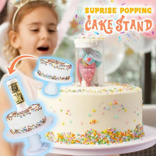 Load image into Gallery viewer, Surprise Popping Cake Stand