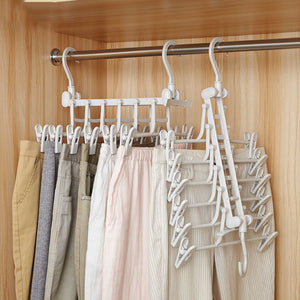 Multifunctional Magic Pants Rack