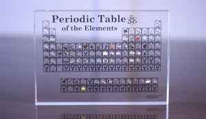Heritage Periodic Table: Collector's Edition 85 Elements