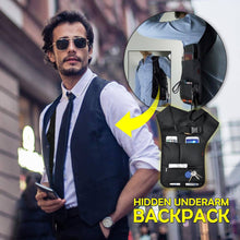 Load image into Gallery viewer, Hidden Underarm Backpack
