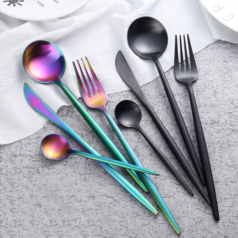4pcs Gloss Tableware Set