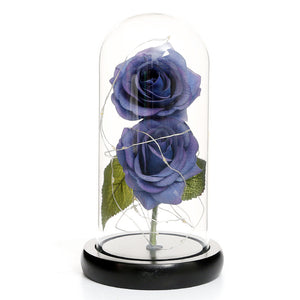 Magic LED Eternal Double Rose