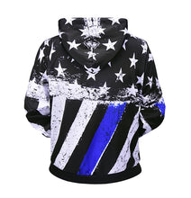 Load image into Gallery viewer, Creative flag men's hoodie