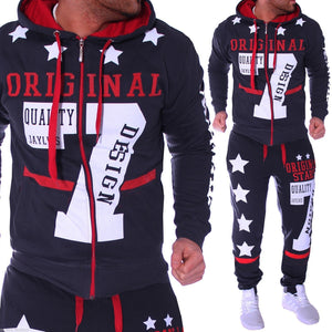 Mens 7 Letter Hoodies Set