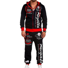 Load image into Gallery viewer, Fashion Loose Men's Sports Hoodie Set