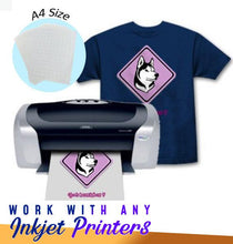 Load image into Gallery viewer, DIY Heat Transfer Paper (Set of 5-20pcs)