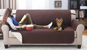 Couch coat waterproof and wearable pet sofa cover