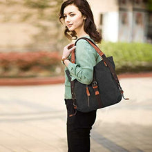 Load image into Gallery viewer, Aline™ Canvas Backpack-Shoulder Bag with Extra Large Capacity