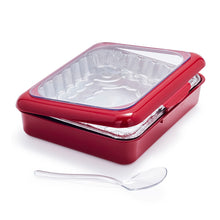 Load image into Gallery viewer, 2 IN 1 Foil Pan Baking Carrie With Spoon