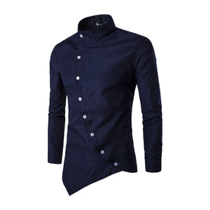 Stylish personality long sleeve shirt