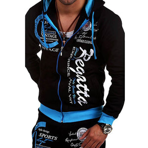 Fashion Loose Men's Sports Hoodie Set