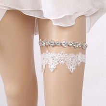 Load image into Gallery viewer, bridal garter belt, wedding garter