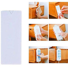 Load image into Gallery viewer, Adhesive Wall Mounted Seamless Power Strip Plug Board Holder