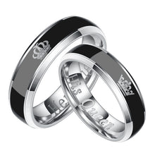 Load image into Gallery viewer, Classic Lovers' Mood Ring for Female Male Her King His Queen Couple Rings Color Change