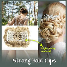 Load image into Gallery viewer, Curly Hair Bun Clip