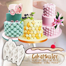 Load image into Gallery viewer, CakeMaster Silicone Billow Puff Fondant Icing Mold,Buy 1 Get 1 Free