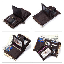 Load image into Gallery viewer, Anti-theft Retro Wallet With Chain 【Genuine Leather】