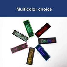 Load image into Gallery viewer, Wireless Bluetooth Advertising LED Name Badge