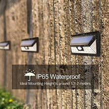 Load image into Gallery viewer, Wide Angle Solar-Powered Motion Sensor Security Light