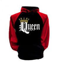 Load image into Gallery viewer, Queen & King Print Hoodie