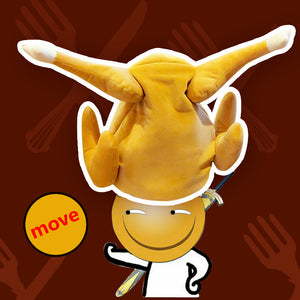 Hot Selling!  Movable chicken leg hat
