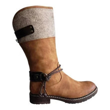 Load image into Gallery viewer, Comfy Low Heel Mid-calf Boots,Free shipping