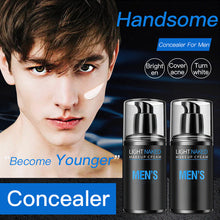 Load image into Gallery viewer, [Buy one get one free ] Men's makeup cream, light makeup concealer, brighten skin tone