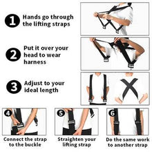 Load image into Gallery viewer, Moving home so tired?  Shoulder Lifting Straps are the ideal solution to your problems!