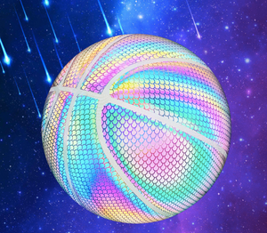 【COOL】Glowing Reflective Basketball
