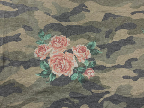 1yd floral camo- FT