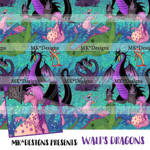 *RETAIL* Walt's Dragons