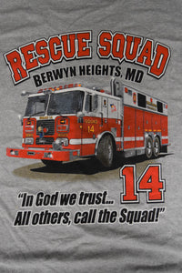 """In God We Trust"" Rescue Squad T- Shirt"