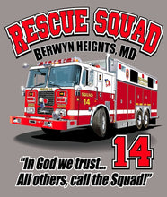 "Load image into Gallery viewer, ""In God We Trust"" Rescue Squad T- Shirt"