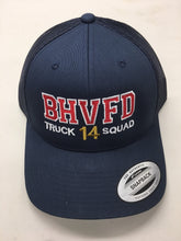 Load image into Gallery viewer, BHVFD Mesh Snapback Ball Cap